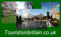Tourists in Britain